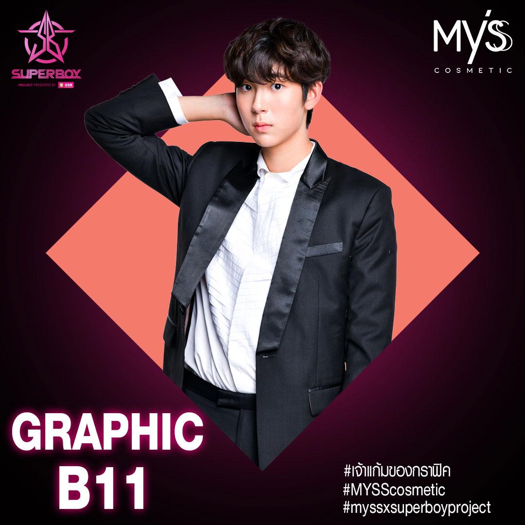 N'Graphic-B11 Cute Boy by Myss